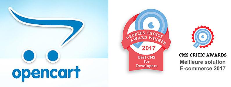 Opencart meilleur CMS e-commerce